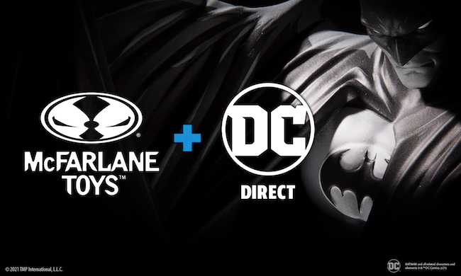 McFarlane Toys, dc comics, dc direct