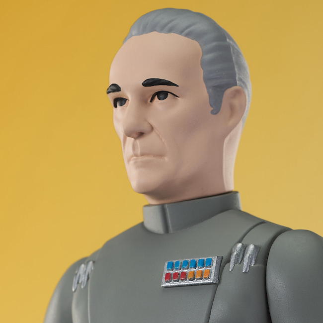 diamond select toys, gentle giant, str wars, Peter Cushing, grand off train, kenner, action figures, entertainment earth